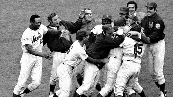 1969 Mets after winning the World Series