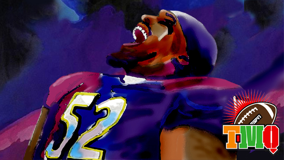 Ray Lewis illustration for Tuesday Morning Quarterback