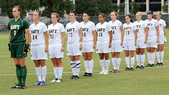 Navy is 15-1-1 and faces a showdown with Army for the Patriot League title Friday.