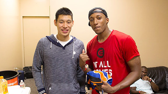 Lecrae and Jeremy Lin