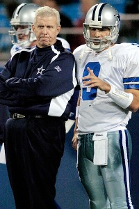 Bill Parcells and Tony Romo