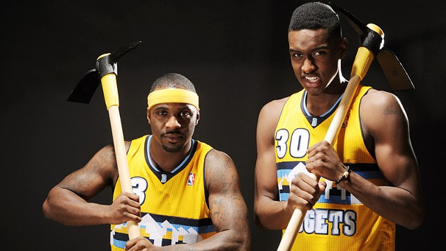 Ty Lawson and Quincy Miller