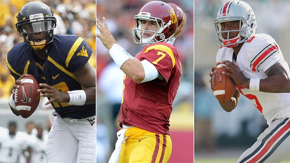 Geno Smith/Matt Barkley/Braxton Miller