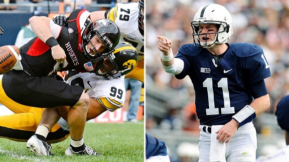 Joe Gaglione and Matt McGloin