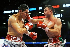 Paulie Malignaggi and Pablo Cesar Cano