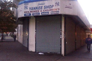 Yankees clothing store