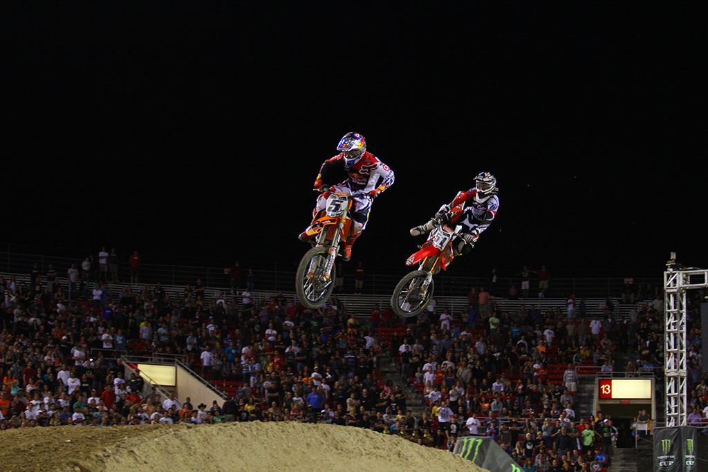 Dungey vs. Barcia