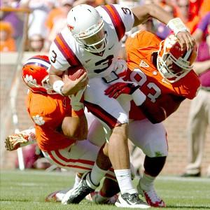 Clemson defense and Virginia Tech