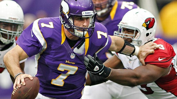 Christian Ponder not holding back Vikings