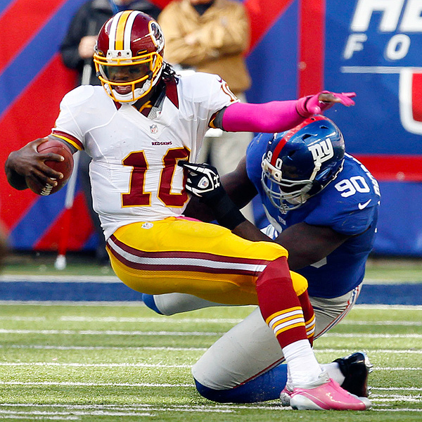 Jason Pierre Paul Rookie: Tuck, Osi, JPP All Get To RG3