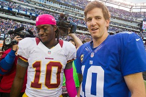 Robert Griffin III and Eli Manning