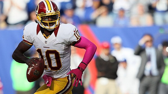 RG3 is not Cam Newton, and that's OK