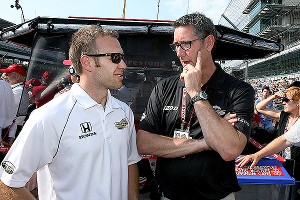 Ed Carpenter, Tony George
