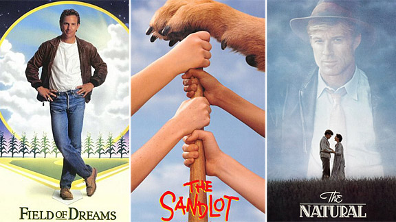Field of Dreams, The Sandlot, The Natural