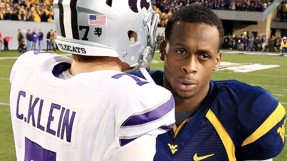 Geno Smith after losing to Kansas State