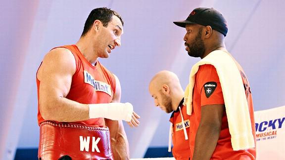 Johnathon Banks, Wladimir Klitschko.