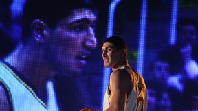 Enes Kanter of the Utah Jazz