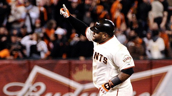 Pablo Sandoval got the Giants off to a strong start, and they never looked back.