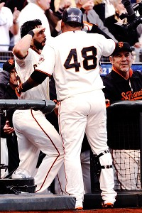 Pablo Sandoval, Angel Pagan