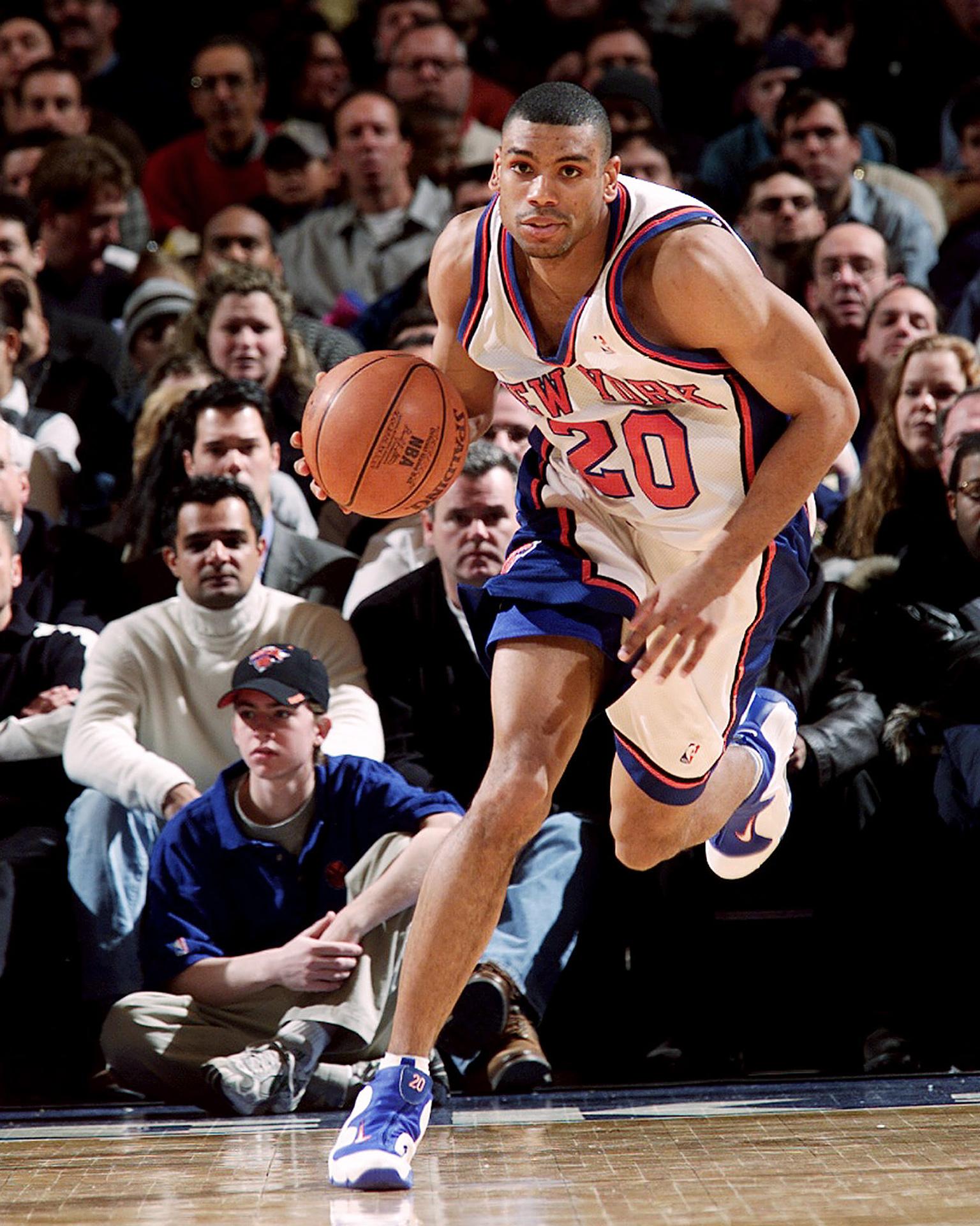 8 Allan Houston The 25 Greatest Knicks ESPN