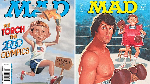Mad Magazine Covers