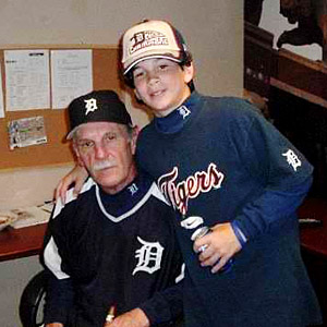 Matt Miller and Jim Leyland