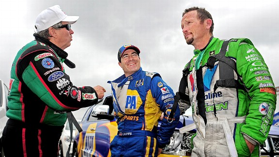 Ron Capps and Jack Beckman