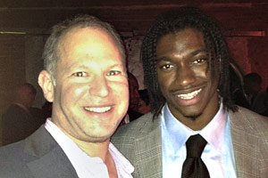 Matthew Berry and Robert Griffin III