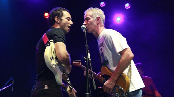 John McEnroe  and Albert Hammond Jr