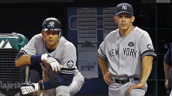 Alex Rodriguez, Joe Girardi