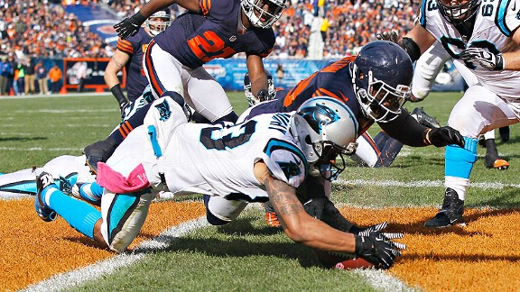 Panthers Recover Fumble