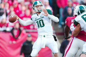 Michigan State Spartans quarterback Andrew Maxwell 