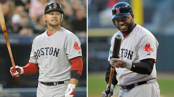 Cody Ross and David Ortiz