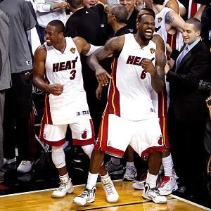 Dwyane Wade and LeBron James