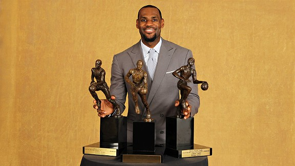 2012-13 NBA predictions -- Most Valuable Player