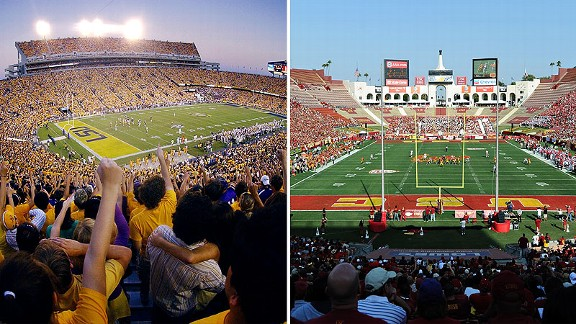 Tiger Stadium & LA Coliseum