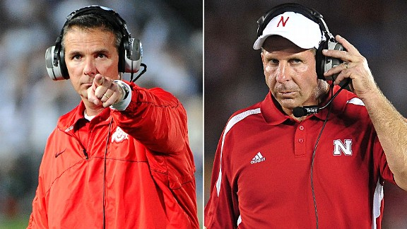 Urban Meyer and Bo Pelini
