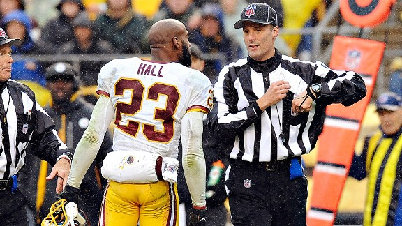 Redskins have no reason to keep Hall