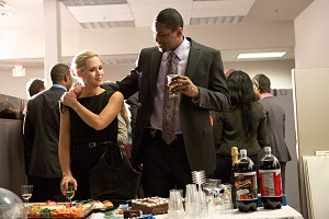 Jennie Garth and Metta World Peace