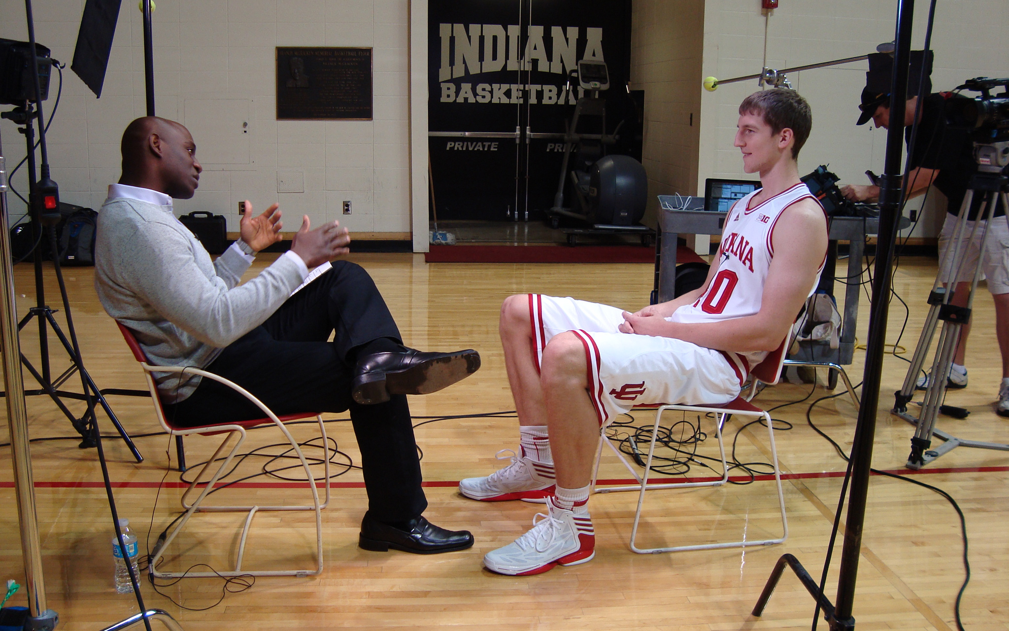 Cody Zeller: Behind the Scenes
