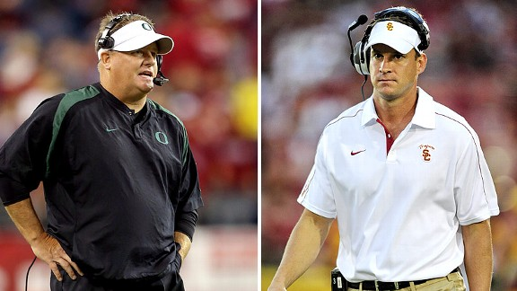 Chip Kelly, Lane Kiffin