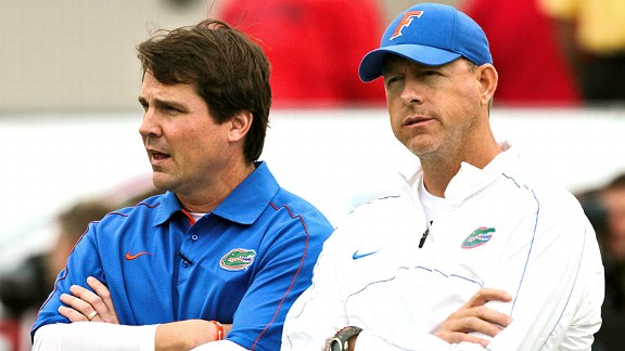 Will Muschamp, Brent Pease