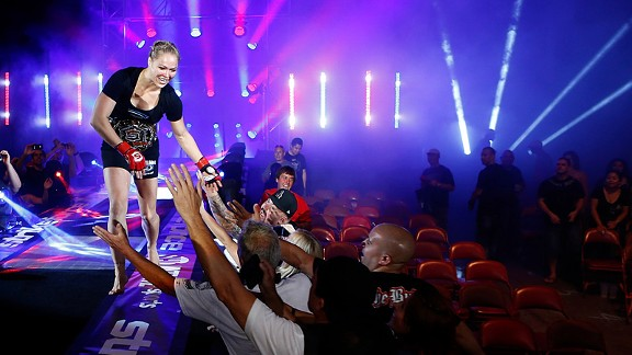 Ronda Rousey Oops