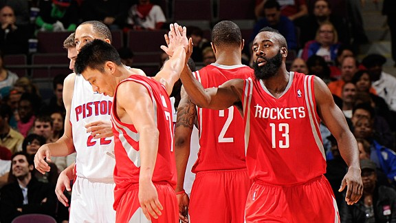 Jeremy Lin and James Harden