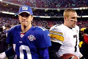 Eli Manning and Ben Roethlisberger