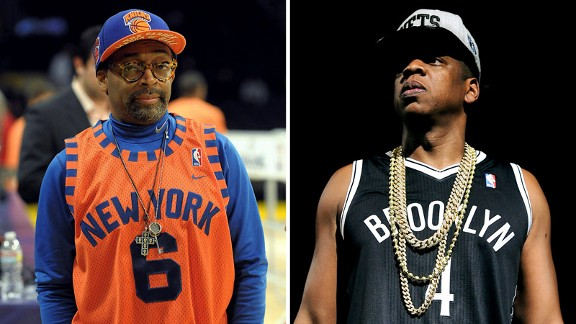 Spike Lee and Jay-Z