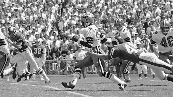 New Orleans Saints and Los Angeles Rams in 1967