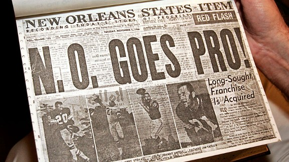 New Orleans States-Item newspaper / New Orleans Saints