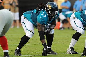 Jaguars guard Uche Nwaneri regularly brings politics into the locker room.