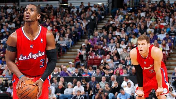 Paul y Griffin conservan energías - Los Ángeles - ESPN ...
